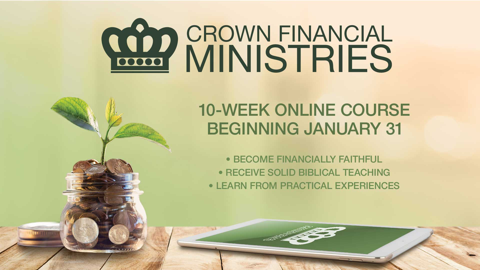 Crown Financial Ministries Online Course