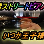 船橋ストリートピアノ いつか王子様がを弾いてみた。