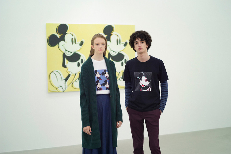 Uniqlo UT Taps Andy Warhol Mickey Mouse For 90th Birthday Celebration