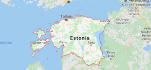 Estonia location