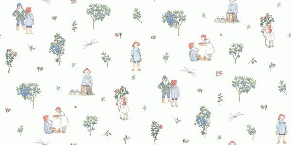 Tapeter Scandinavian Designers Mini Putte 6234 6234 Mönster