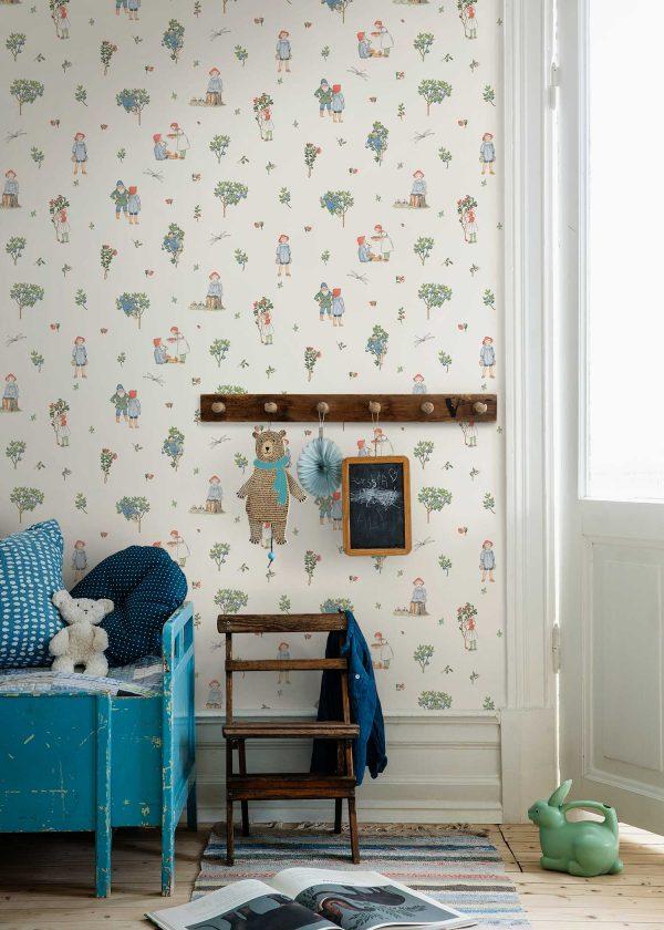 Tapeter Scandinavian Designers Mini Putte 6234 6234 Interiör