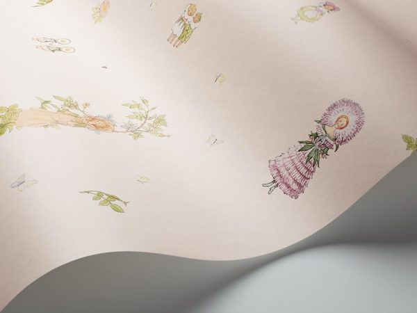 Tapeter Scandinavian Designers Mini Blomsterfesten 6235 6235 Interiör alternativ
