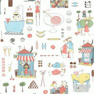 Tapeter Scandinavian Designers Mini Krakel Spektakel 6242 6242 Mönster