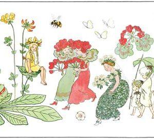 Tapeter Scandinavian Designers Mini Blomsterparaden 6280 6280 Mönster