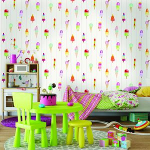 Tapeter Make Believe Lollypops 12450 12450 Interiör