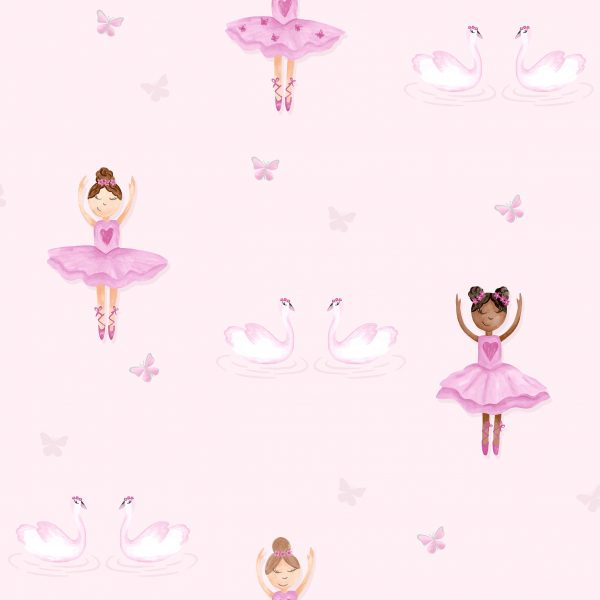 Tapeter Make Believe Ballerina 12460 12460 Mönster