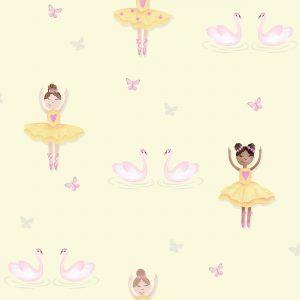 Tapeter Make Believe Ballerina 12462 12462 Mönster
