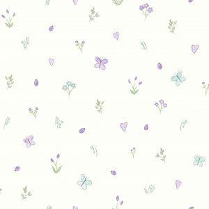 Tapeter Make Believe Butterfly Garden 12471 12471 Mönster