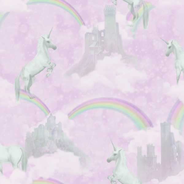 Tapeter Make Believe I Believe In Unicorns 12480 12480 Mönster
