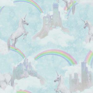 Tapeter Make Believe I Believe In Unicorns 12481 12481 Mönster