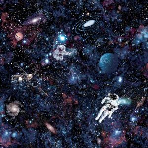 Tapeter Make Believe Intergalactic 12500 12500 Mönster