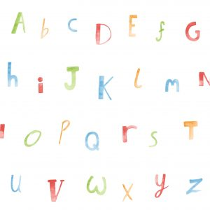 Tapeter Make Believe Alphabet 12560 12560 Mönster
