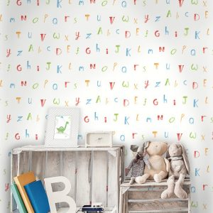 Tapeter Make Believe Alphabet 12560 12560 Interiör