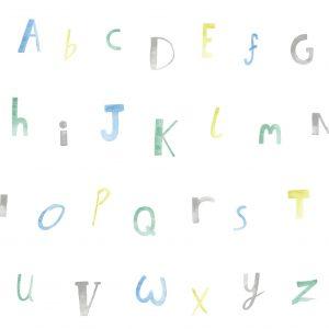 Tapeter Make Believe Alphabet 12561 12561 Mönster