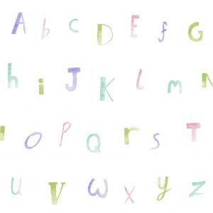 Tapeter Make Believe Alphabet 12562 12562 Mönster