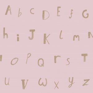 Tapeter Make Believe Alphabet 12563 12563 Mönster