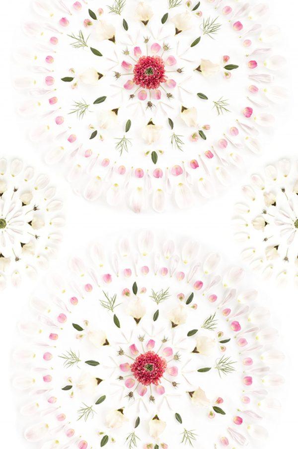 Tapeter Flora Sandbergica Flower tiles 628-01 628-01 Interiör