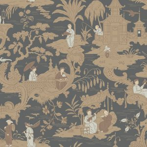 Tapeter Archive Anthology Chinese Toile 100/8040 100/8040 Mönster
