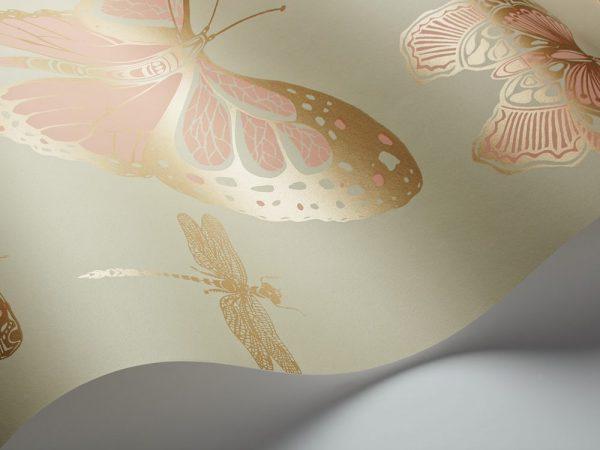 Tapeter Whimsical Butterflies & Dragonflies 103/15063 103/15063 Interiör alternativ
