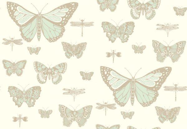 Tapeter Whimsical Butterflies & Dragonflies 103/15065 103/15065 Mönster