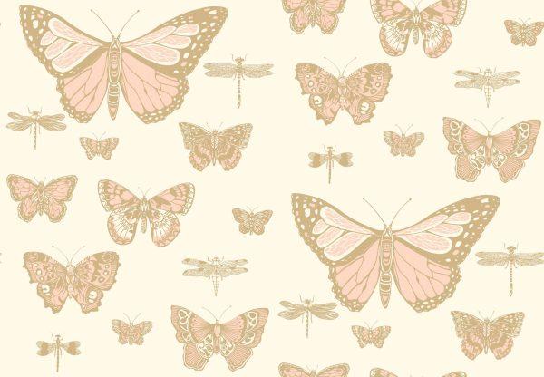 Tapeter Whimsical Butterflies & Dragonflies 103/15066 103/15066 Mönster