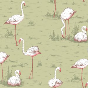 Tapeter Icons Flamingos 112/11038 112/11038 Mönster