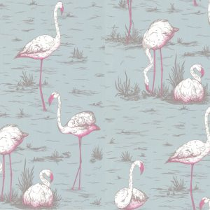 Tapeter New Contemporary Flamingos 66/6044 66/6044 Mönster
