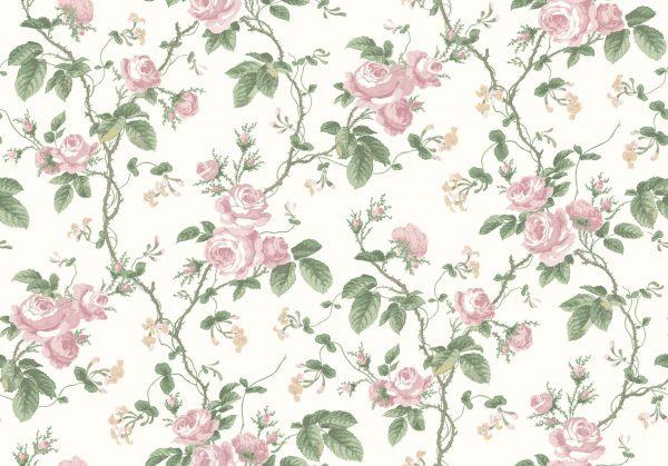Tapeter In Bloom French Roses 7212 7212 Interiör