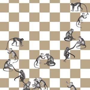 Tapeter Fornasetti Murals Checkmate (135cm X 265cm) 82/21033 82/21033 Mönster