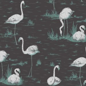 Tapeter Contemporary Restyled Flamingos 95/8048 95/8048 Mönster