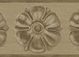 Tapeter Historic Royal Palaces Tudor Rose Border 98/4015 98/4015 Mönster