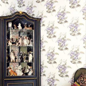 Tapeter Archive Anthology Madras Violet 100/12059 100/12059 Interiör