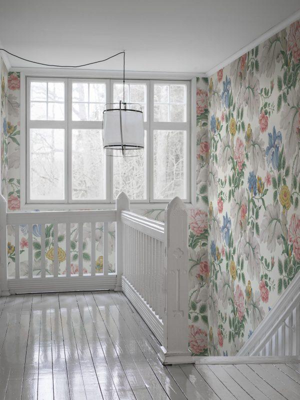 Tapeter In Bloom Carnation Garden Mural 7236 7236 Mönster