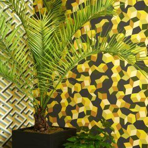 Tapeter Geometric II Puzzle 105/2012 105/2012 Interiör
