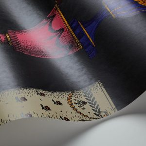 Tapeter Fornasetti Murals Boemia (270cm X 265cm) DMW1010 DMW1010 Interiör