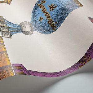Tapeter Fornasetti Murals Boemia (270cm X 265cm) DMW1011 DMW1011 Interiör