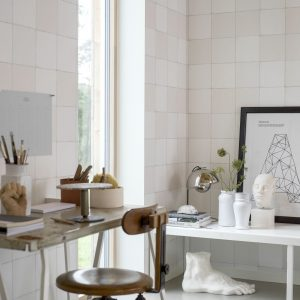 Tapeter White & Light Capri Tiles 7164 7164 Mönster