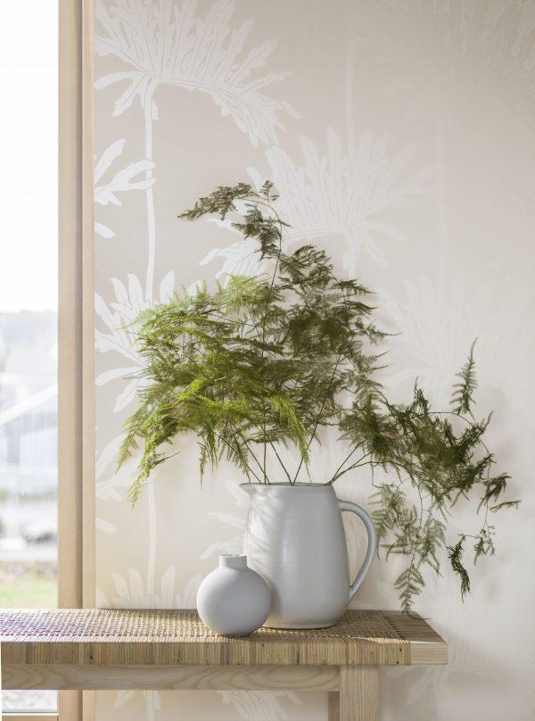 Tapeter White & Light Dragon Leaf 7185 7185 Mönster