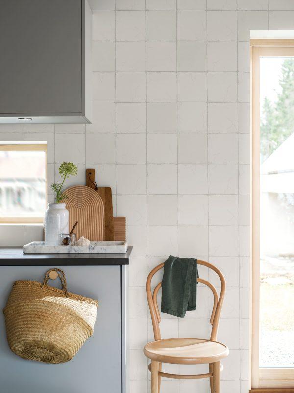 Tapeter White & Light Capri Tiles 7165 7165 Mönster
