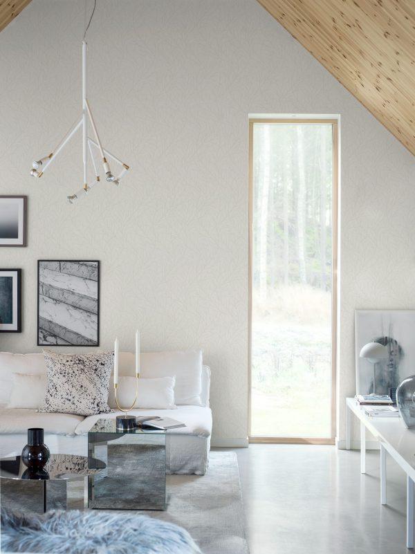 Tapeter White & Light Branches 7178 7178 Mönster
