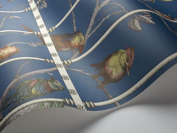 Tapeter Fornasetti Uccelli  114/11023 114/11023 Interiör alternativ