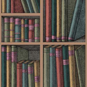 Tapeter Fornasetti Ex Libris  114/5010 114/5010 Interiör
