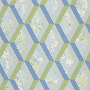 Tapeter Mandora Wallpaper Jourdain Cobalt PDG1054/08 PDG1054/08 Mönster