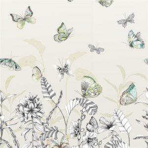 Tapeter Mandora Wallpaper Papillons Birch PDG1058/01 PDG1058/01 Mönster