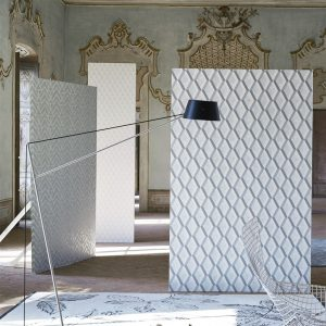 Tapeter Mandora Wallpaper Mandora Pale Aqua PDG1049/08 PDG1049/08 Interiör