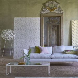 Tapeter Mandora Wallpaper Emilie Ivory PDG1050/07 PDG1050/07 Interiör
