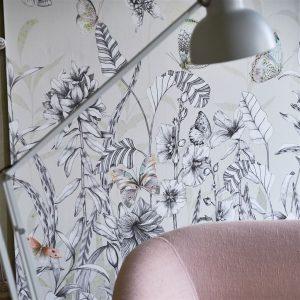 Tapeter Mandora Wallpaper Papillons Birch PDG1058/01 PDG1058/01 Interiör