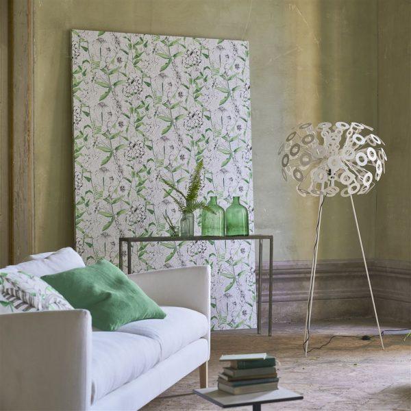 Tapeter Mandora Wallpaper Emilie Emerald PDG1050/01 PDG1050/01 Interiör