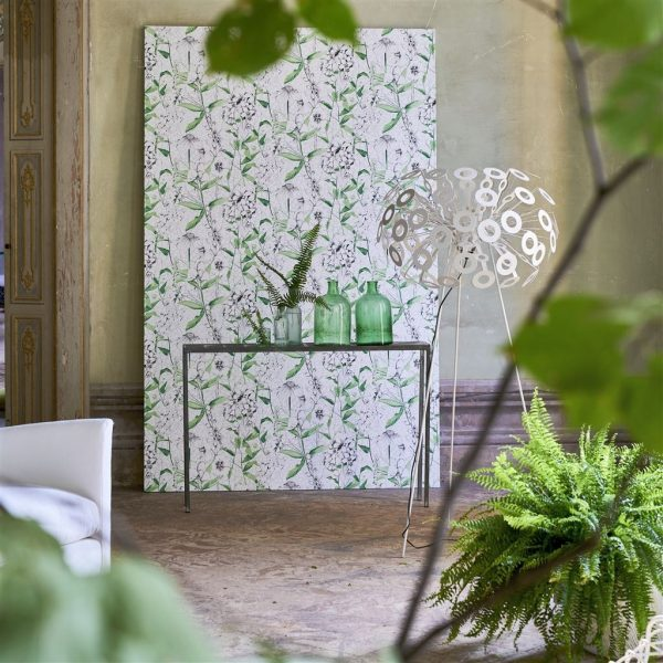 Tapeter Mandora Wallpaper Emilie Emerald PDG1050/01 PDG1050/01 Interiör alternativ